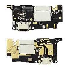 Нижняя плата для Xiaomi Mi5c на разъем зарядки (Оригинал)