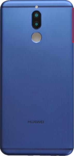 Задняя крышка (корпус) для Huawei Nova 2i, цвет: синий