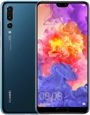 Задняя крышка для Huawei P20 (EML-L29, EML-L29C, EML-AL00) цвет: полночно-синий