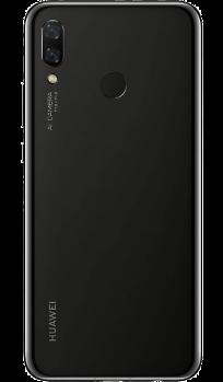 Задняя крышка для Huawei P20 Pro, цвет: чёрный
