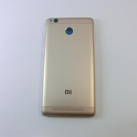 Задняя крышка для Xiaomi Redmi 3s цвет: золото