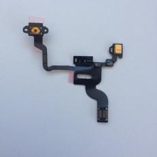 Шлейф кнопки выключения/включения с микрофоном для Apple iPhone 4