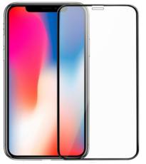 Защитное стекло для Apple iPhone 11 Pro 5D (полная проклейка), цвет: черный