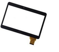 Тачскрин для планшета Irbis TZ100, TZ18, TZ22, TZ21, TX11, TZ10 (HK10DR2438-V01, YCF0464-A, YCF0464, JW608), цвет: черный