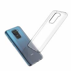 Чехол для Xiaomi Note 9 Silicone Case, цвет: прозрачный