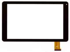Тачскрин для планшета Texet TM1067 (MJK-0710-FPC), цвет: черный