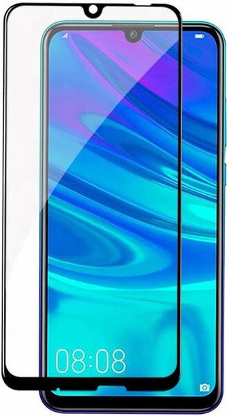 Защитное стекло для Huawei Y7 2019 (DUB-LX1) 5D (полная проклейка), цвет: черный