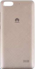 Задняя крышка (корпус) для Huawei Honor 4C (G play mini, CHC-U01), цвет: золотистый