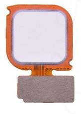 Шлейф для Huawei P10 Lite со сканером отпечатка пальцев, цвет: белый