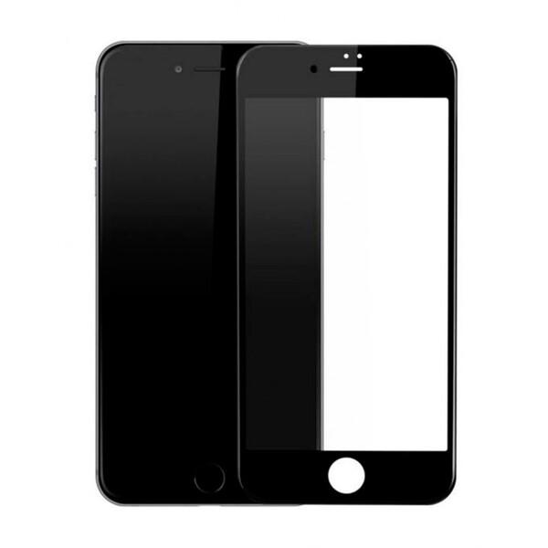 Защитное стекло для Apple iPhone 6s Plus 5D (полная проклейка), цвет: черный