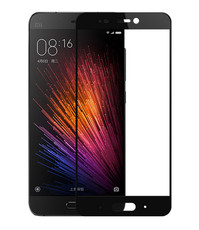 Защитное стекло для Xiaomi Redmi Note 5 Pro, 3D (проклейка по контуру), цвет: черный