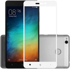 Защитное стекло для Xiaomi Redmi 4A 5D (полная проклейка), цвет: белый