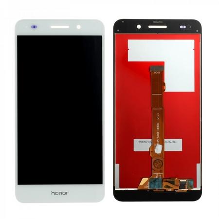 Экран для Huawei Honor 5A (LYO-L21) с тачскрином, цвет: белый