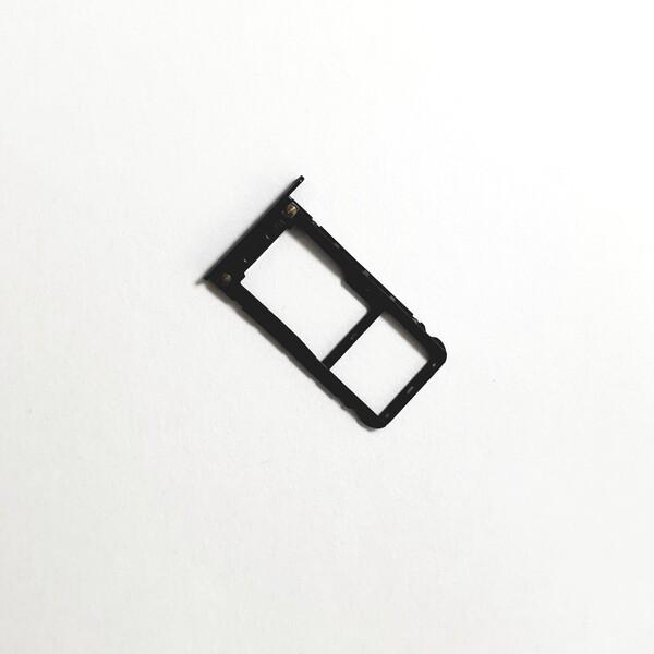 Sim-слот (сим-лоток, Micro SD лоток) для Xiaomi Redmi Note 5, цвет: черный