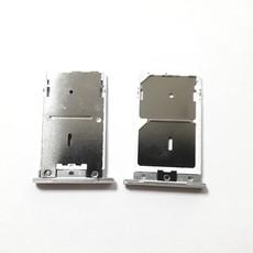 Sim-слот (сим-лоток, Micro SD лоток) для Xiaomi Redmi Note 3, Note 3 Pro, цвет: серебристый