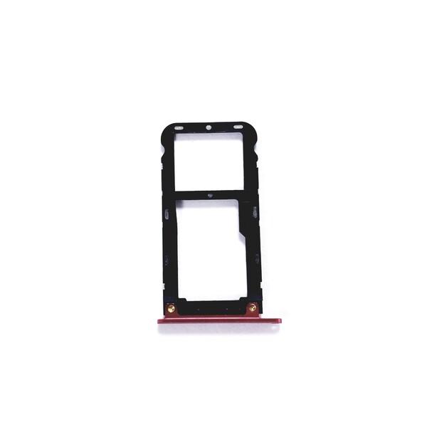 Sim-слот (сим-лоток, Micro SD лоток) для Xiaomi Mi A1,Mi 5x (Красный)