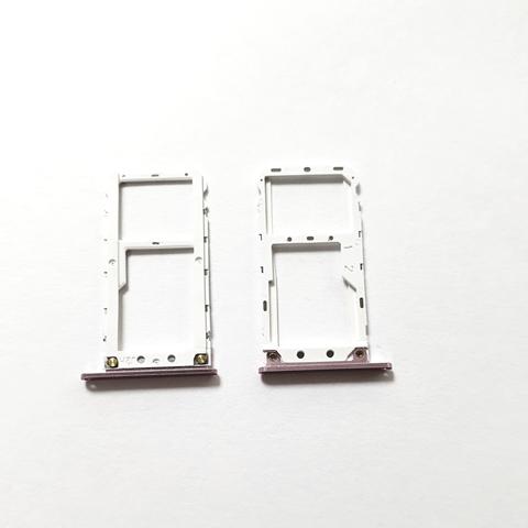 Sim-слот (сим-лоток, Micro SD лоток) для Xiaomi Mi A1, Mi 5x (Розовое золото)