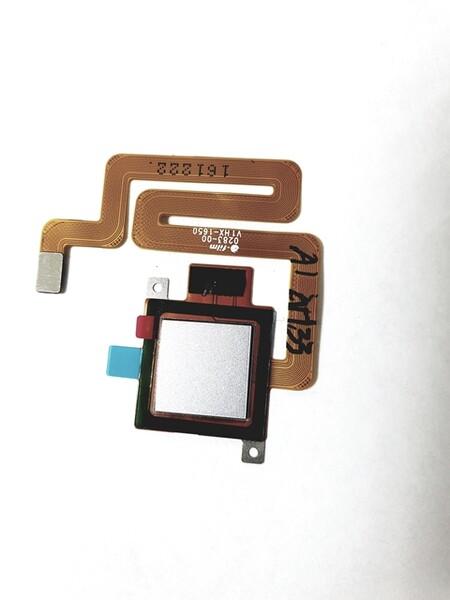 Шлейф для Xiaomi Redmi 4 в сборе со сканером отпечатком пальцев, цвет: белый
