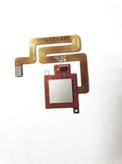 Шлейф для Xiaomi Redmi 4 в сборе со сканером отпечатком пальцев, цвет: золотой