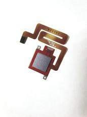 Шлейф для Xiaomi Redmi 4 в сборе со сканером отпечатком пальцев, цвет: серый