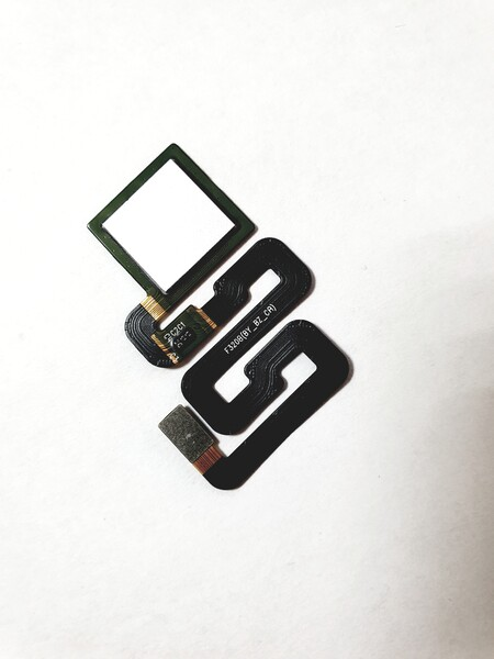 Шлейф для Xiaomi Redmi 4X в сборе со сканером отпечатком пальцев, цвет: белый