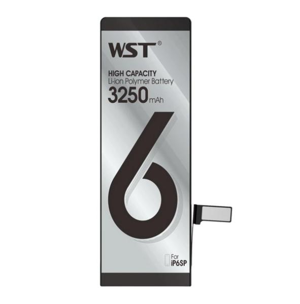 Аккумулятор WST для Apple iPhone 6s plus (616-0770. 616-0772. 616-0765. 616-0802) усиленный