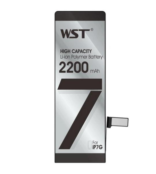 Аккумулятор WST для Apple iPhone 7 (616-00259) усиленный