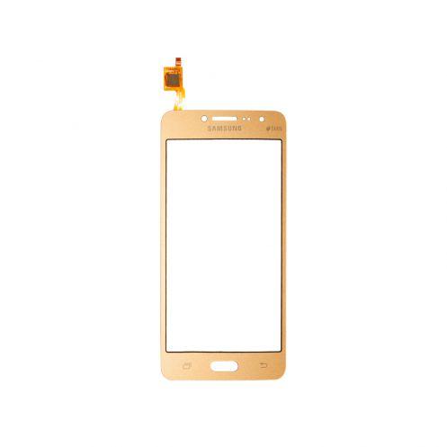 Тачскрин для Samsung Galaxy J2 Prime (G532F), цвет: золотой
