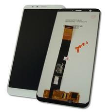 Экран для Meizu M8c с тачскрином, цвет: белый