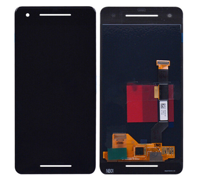 Экран для Google Pixel 2 с тачскрином, цвет: черный, OLED