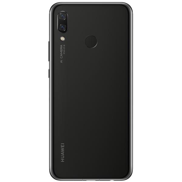 Задняя крышка для Huawei Nova 3i (INE-LX1) цвет: черный
