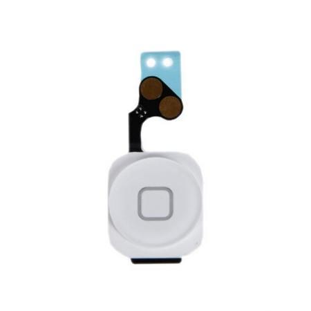 Шлейф кнопки Home (с кнопкой) для Apple iPhone 5, цвет: белый