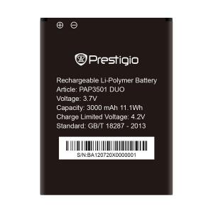 Аккумулятор для Prestigio 3501 Duo (PAP3501) оригинал