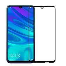 Защитное стекло для Huawei Honor 20 Lite 5D (полная проклейка), цвет: черный