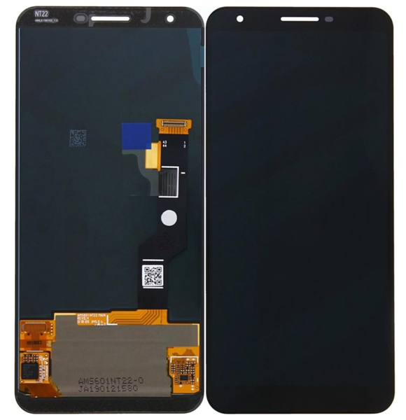 Экран для Google Pixel 3XL с тачскрином, цвет: черный оригинальный