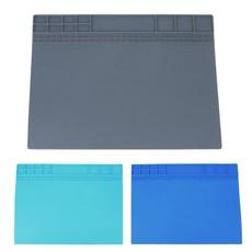 Силиконовый антистатический коврик для ремонта и пайки 405x300 мм