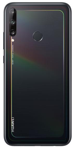 Задняя крышка (корпус) для Huawei P40 lite E, цвет: черный