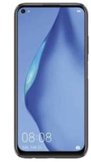 Экран для Huawei P40 Lite с тачскрином, цвет: черный