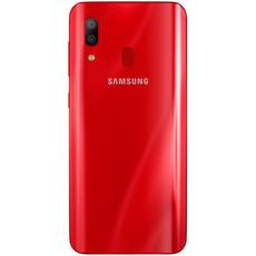 Задняя крышка (корпус) для Samsung Galaxy A40 (SM-A405), цвет: красный