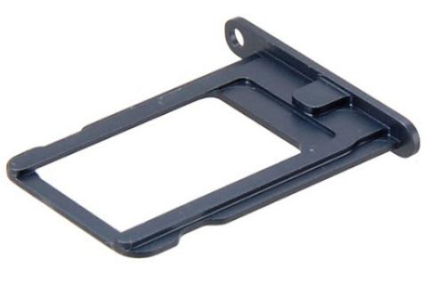 Sim-слот (сим-лоток) для iPhone 5, цвет: черный