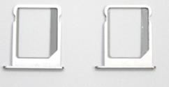 Sim-слот (сим-лоток) для iPhone 5, цвет: серебристый
