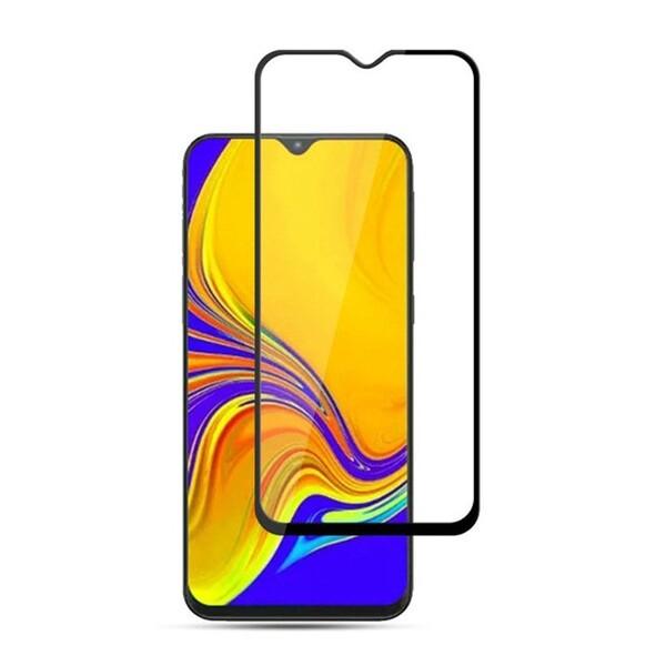 Защитное стекло для Samsung Galaxy A50 (SM-A505) 5D (полная проклейка), цвет: черный