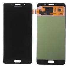 Экран для Samsung Galaxy A7 2016 (A710F) с тачскрином, цвет: черный, оригинальный