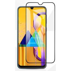 Защитное стекло для Samsung Galaxy M51 5D (полная проклейка), цвет: черный