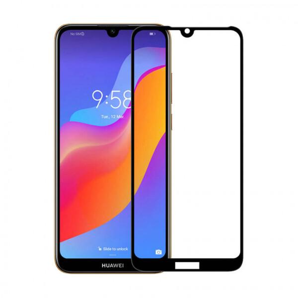 Защитное стекло для Huawei Honor 8A Pro 2019 (JAT-L41) 5D (полная проклейка) цвет: черный