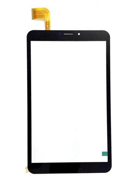 Тачскрин для планшета Irbis TZ82, TZ85, TZ87, TX88, TX90 (FPC-FC80J211-00), цвет: черный