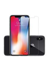 Защитное стекло для Apple iPhone X, цвет: прозрачный