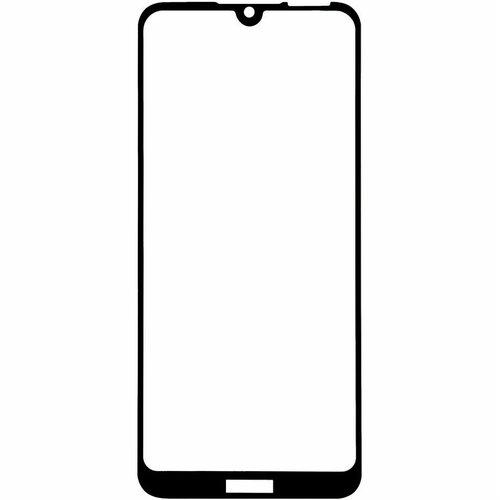 Защитное стекло для Huawei Y6 2019 (MRD-LX1F) 5D (полная проклейка), цвет: черный