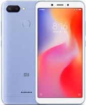 Задняя крышка для Xiaomi Redmi 6 цвет: голубой
