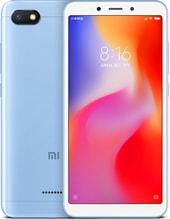 Задняя крышка для Xiaomi Redmi 6a цвет: голубой